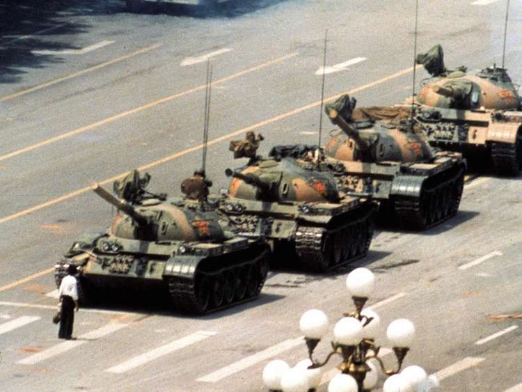 Iconic Images Of The 1980s Tank Man