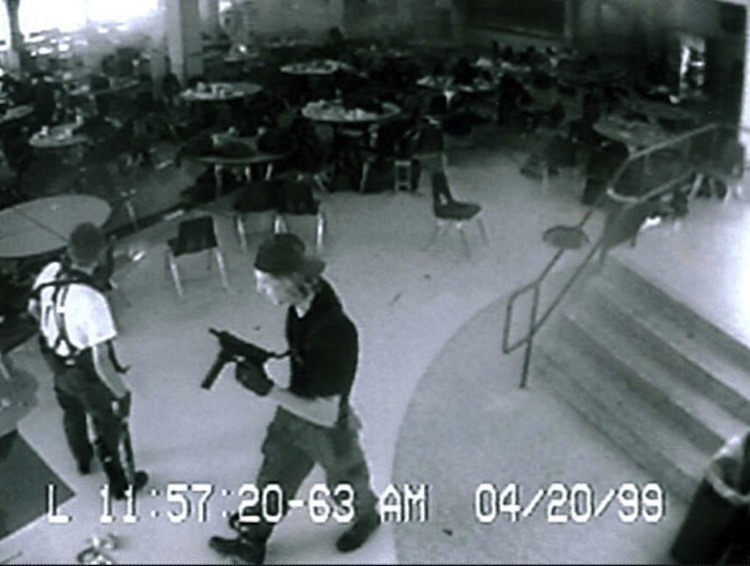 Iconic Images Of The 1990s Columbine