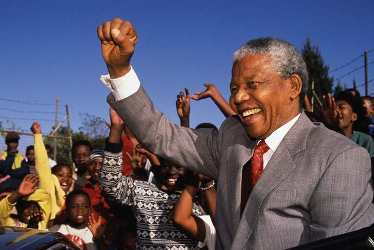 Nelson Mandela Freed 1991
