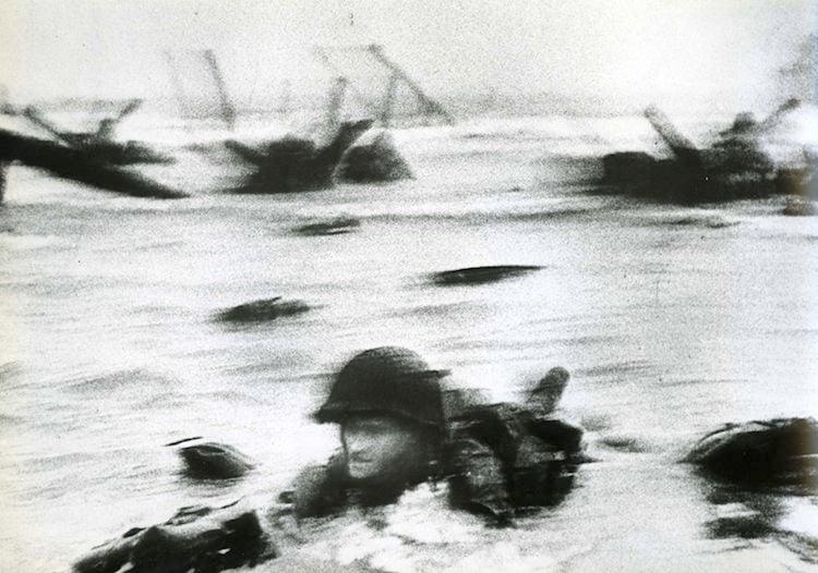 Omaha Beach D-Day Photograph