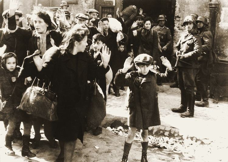 Warsaw Ghetto Uprising of 1943 Photograph