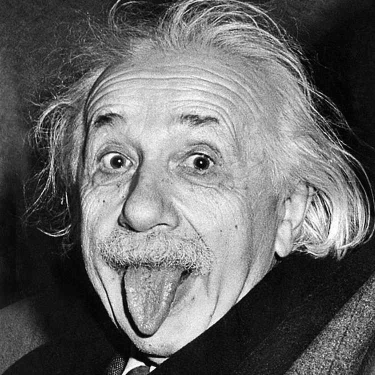 Iconic Photos 1950 Einstein