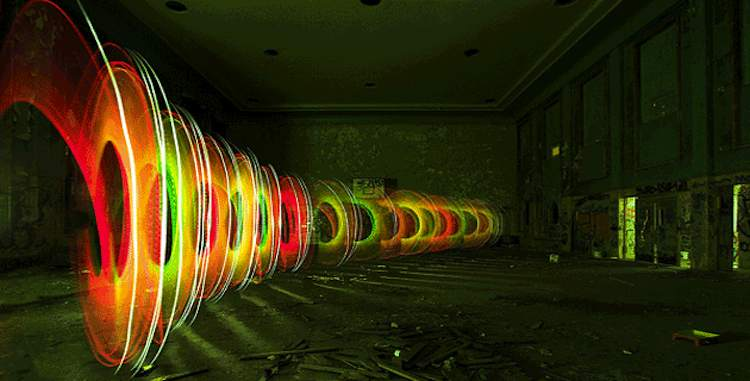 The luminous world of light painting spherical landscape light paintings lapp pro aloadofball Image collections