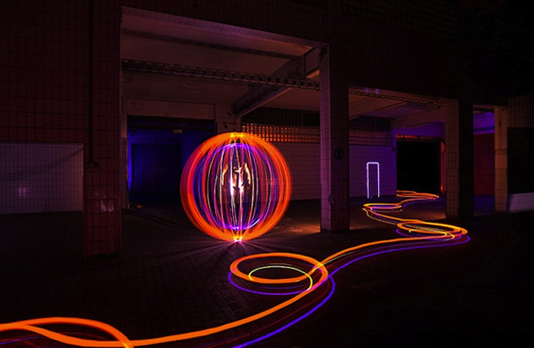 The luminous world of light painting light painting lapp pro mozeypictures Image collections
