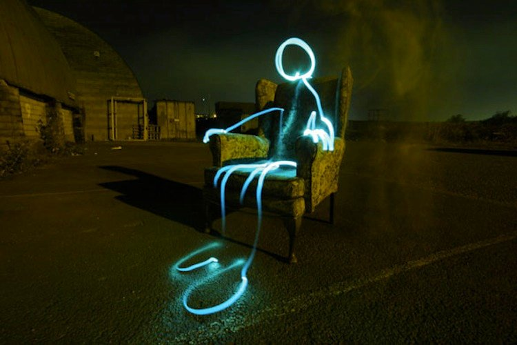 Light Painting Taylor Pemberton