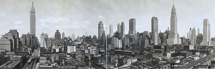 New York Skyline In 1931
