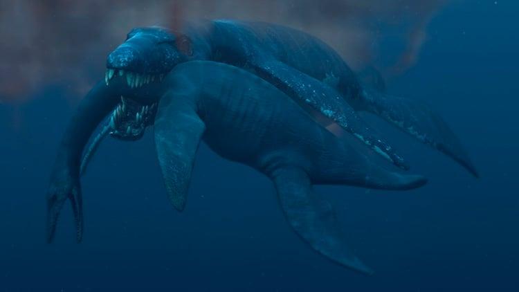 Pliosaur Weird Dinosaur