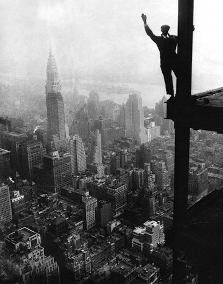 New York 1920s Empire State Building