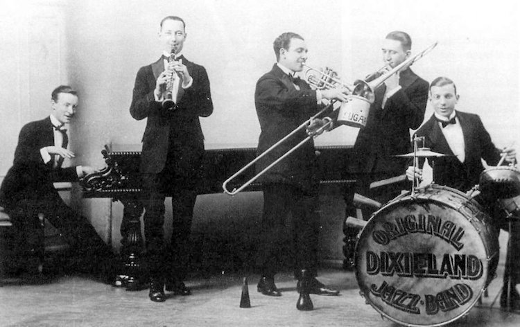 New York City 1920s Jazz Photograph