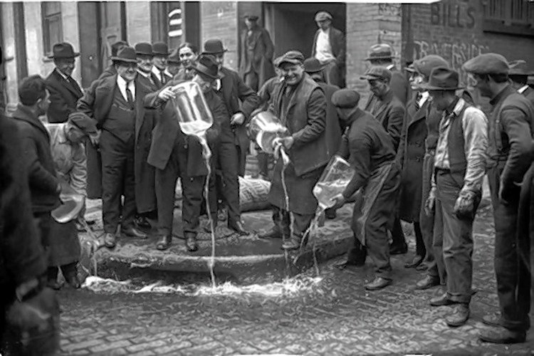 New York 1920s Prohibition