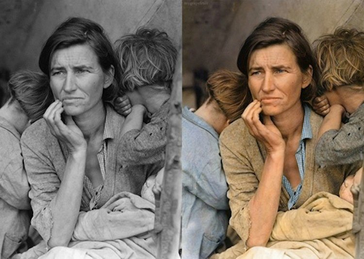 old-images-recolored10-migrant-mother