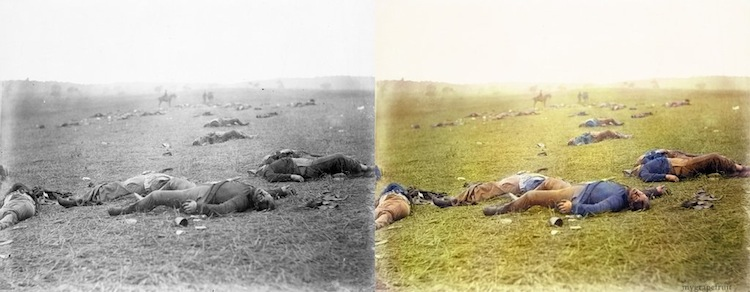 old-images-recolored6-gettysburg