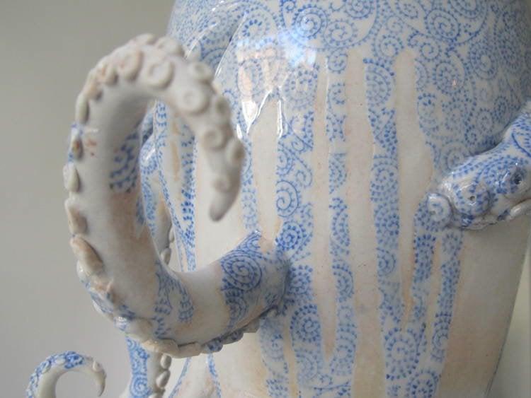 Masumoto Octopus Vase