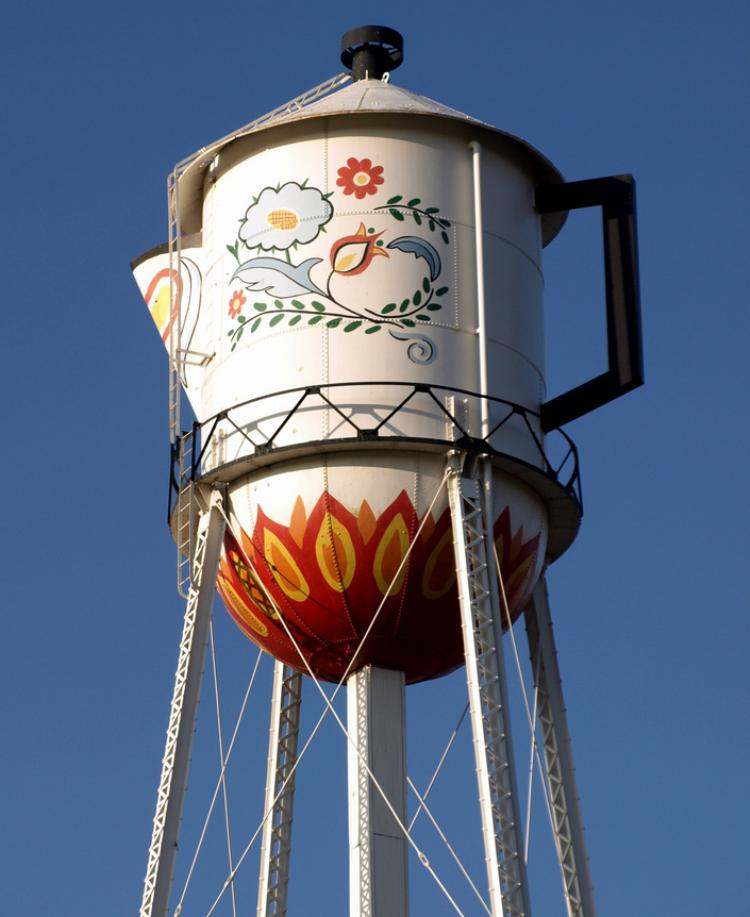 Weirdest Water Towers