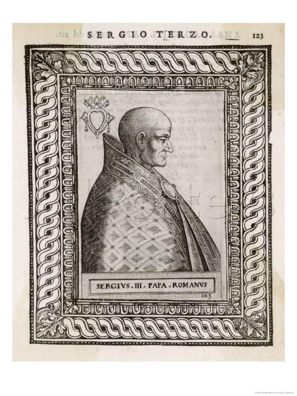 Pope Sergius III