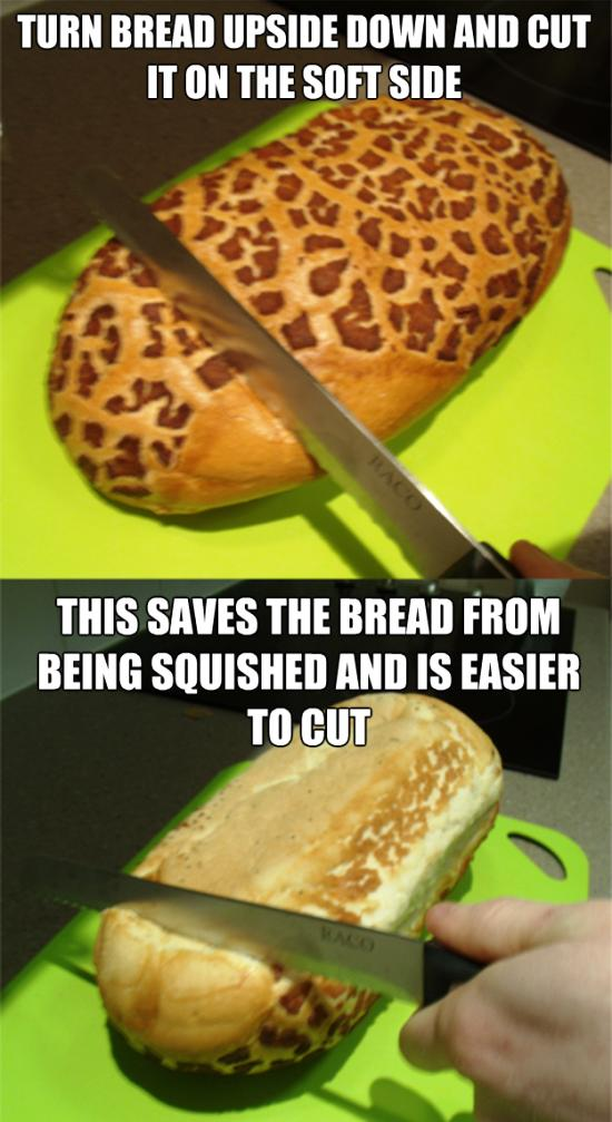 How To Cut Bread