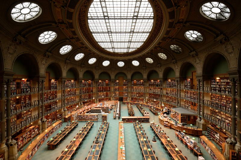 Greatest Libraries Bibliotheque Nationale