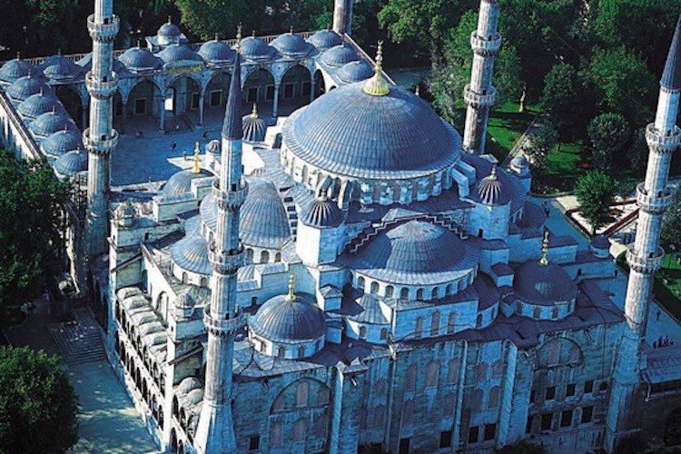 Photograph of the Blue Mosque