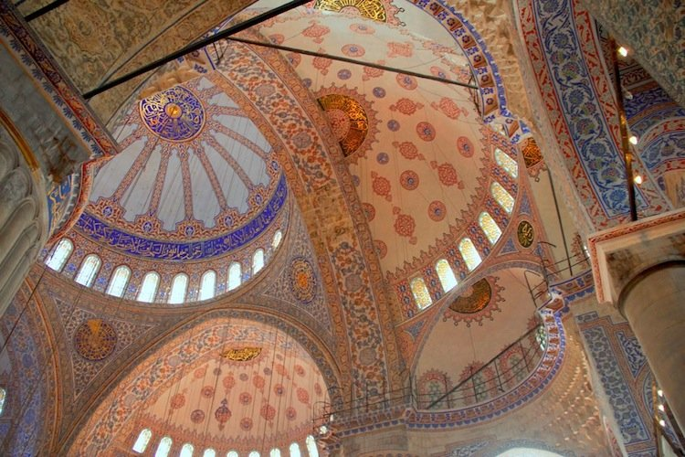 Islamic Architecture Blue Mosque