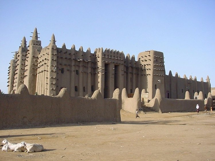 Five Marvels Of Islamic Architecture Great Mosque of Djenné