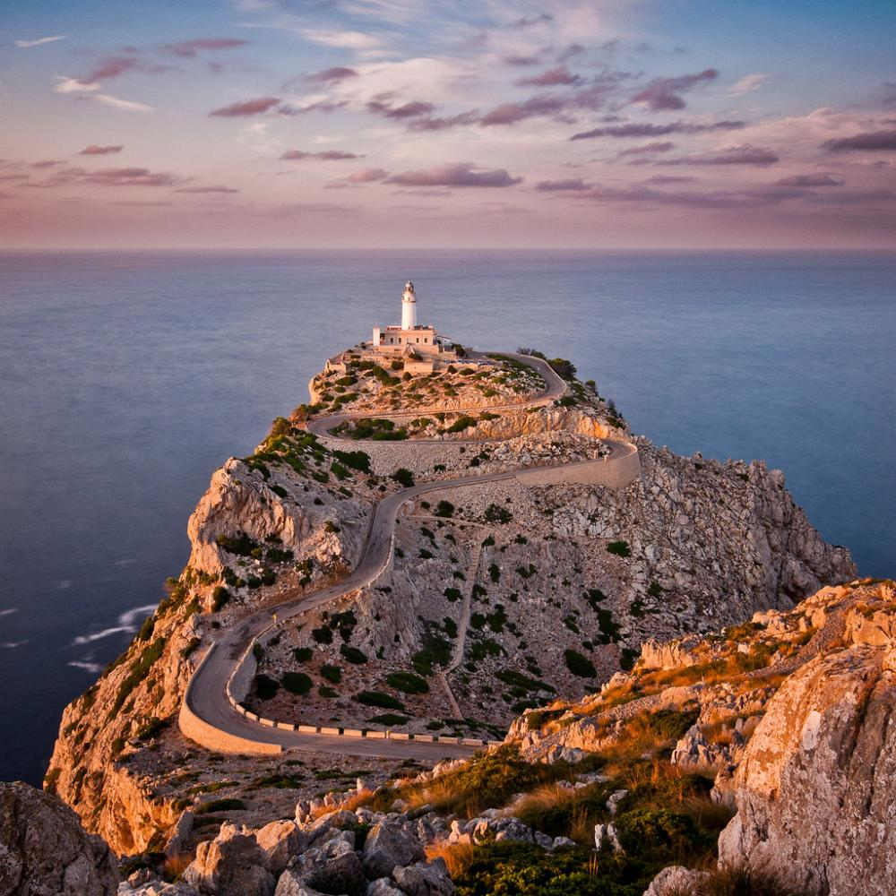 Lighthouse of Mallorca Spain Photograph