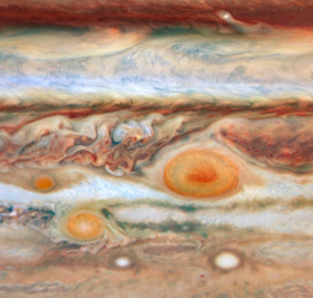 Red Spot Of Jupiter