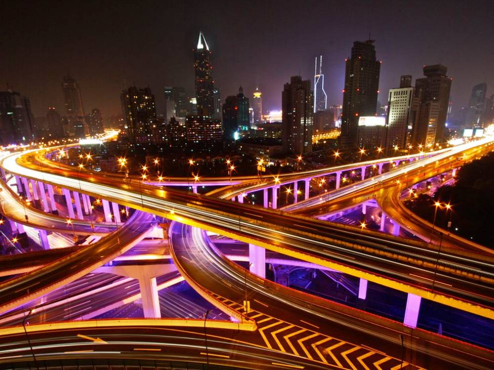 shanghai-highways-photograph