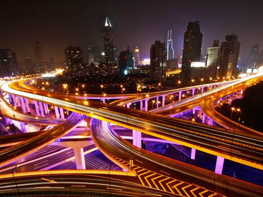 shanghai-highways-photograph