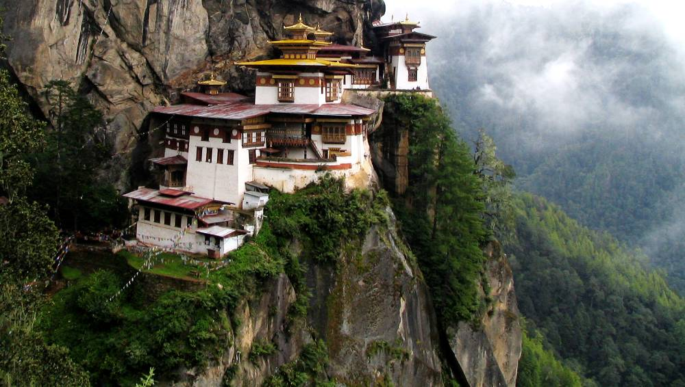 Taktshang Monastery of Bhutan Photograph