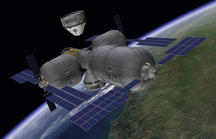 The Bigelow Commercial Space Station