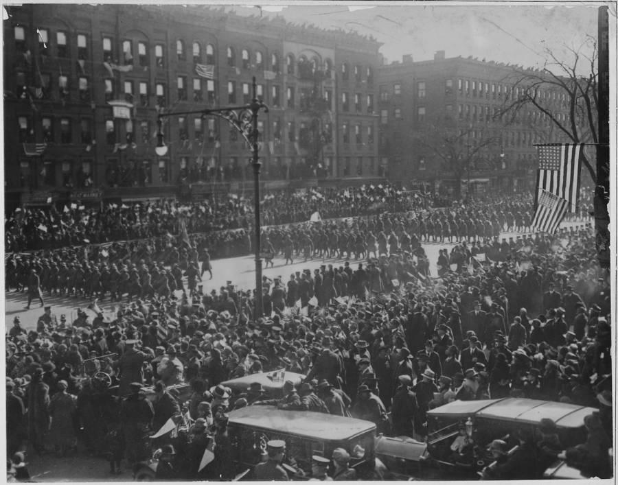 World War I Homecoming Parade
