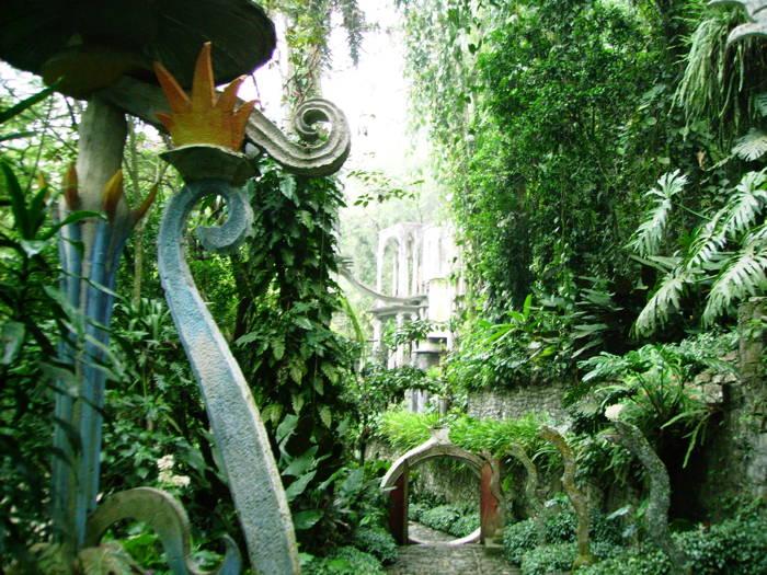 Las Pozas Garden