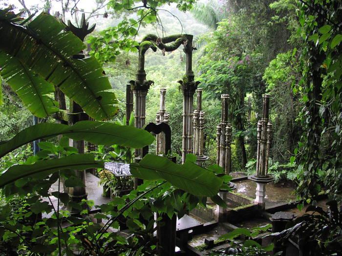 World's Most Peculiar Gardens Las Pozas