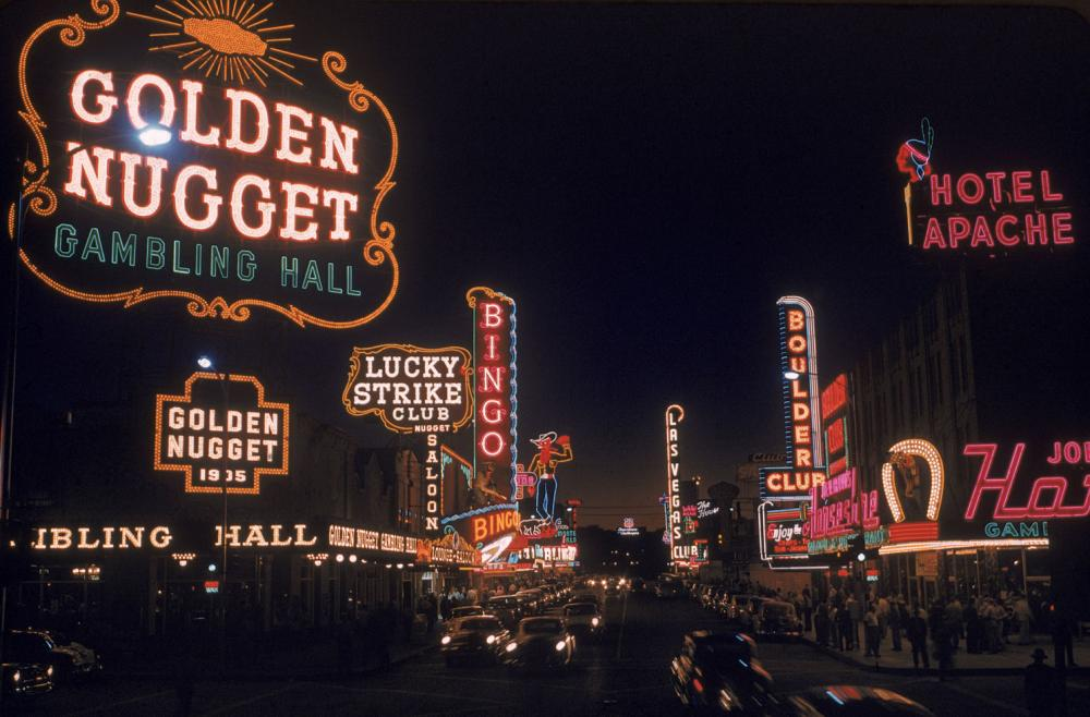 A Look Back At Las Vegas Strip