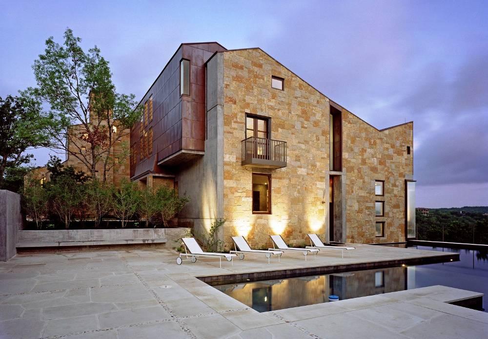 A Modern Castle in Austin