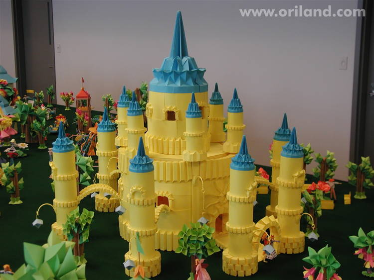 Incredible Origami Castle