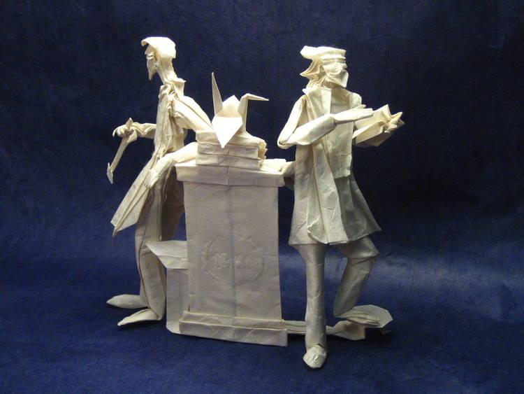 Incredible Origami Scholars