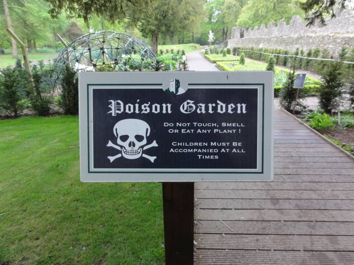 Poison Garden Peculiar Gardens