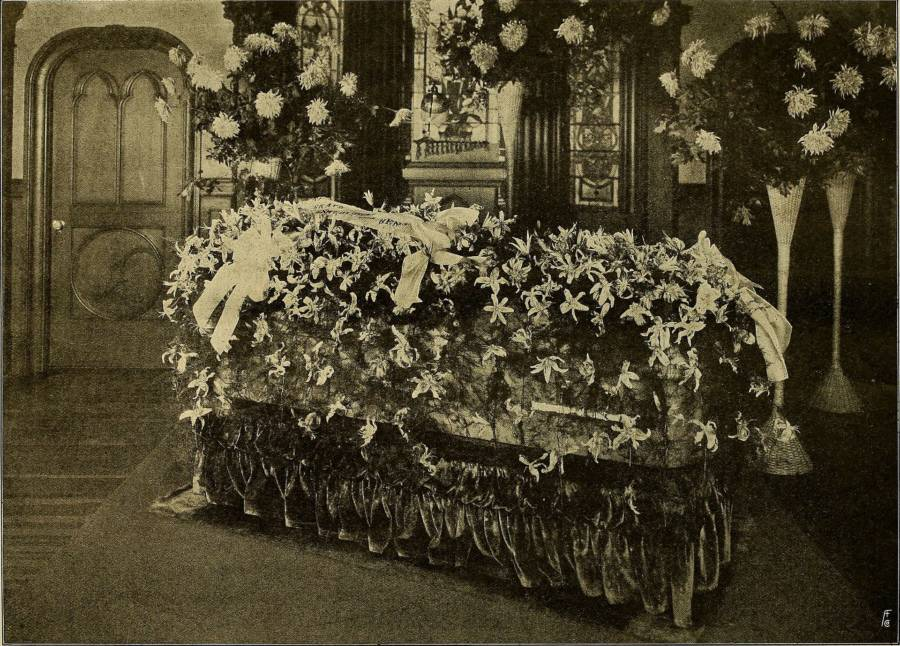 Virginia Rappe Casket