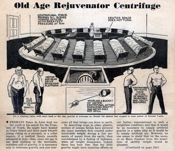 Old Age Rejuvenator Centrifuge