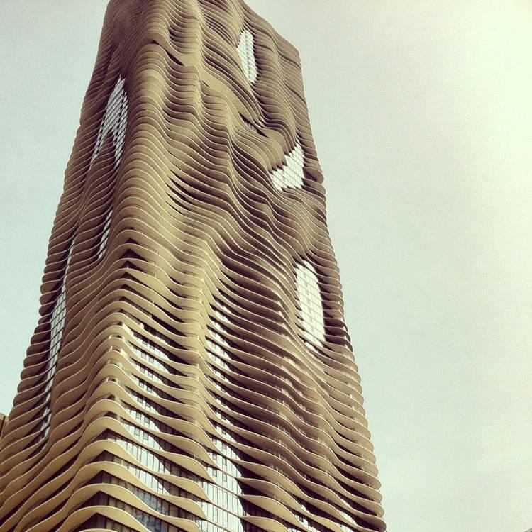 Astounding Skyscrapers Aqua Chicago