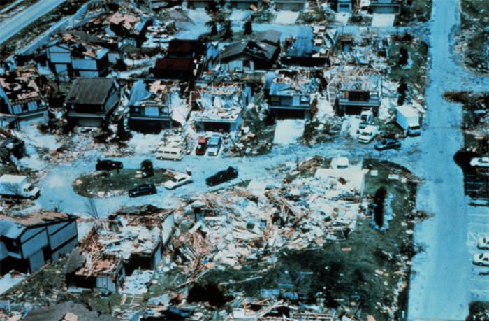 Devastating Hurricanes Andrew