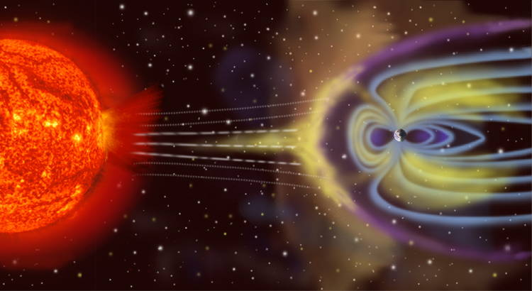 MagneticFieldsSolarStorm The Most Magical Depictions Of Magnetic Fields