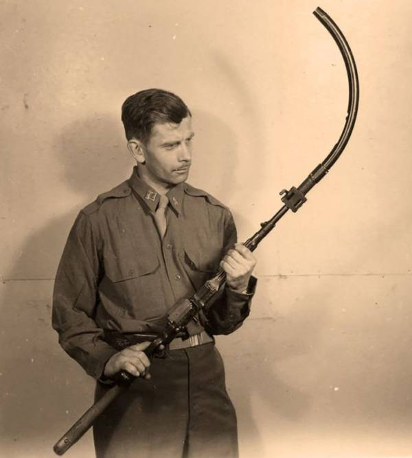 Curved Rifle