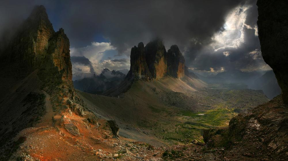 The Dolomites Of Italy