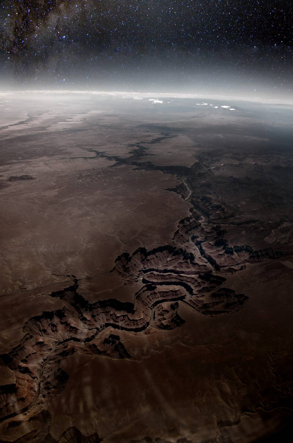 The Grand Canyon From Above
