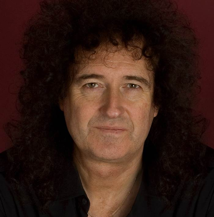 Brian May Iconic Rock Hair