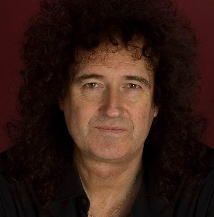 Brian May Iconic Rock Hair