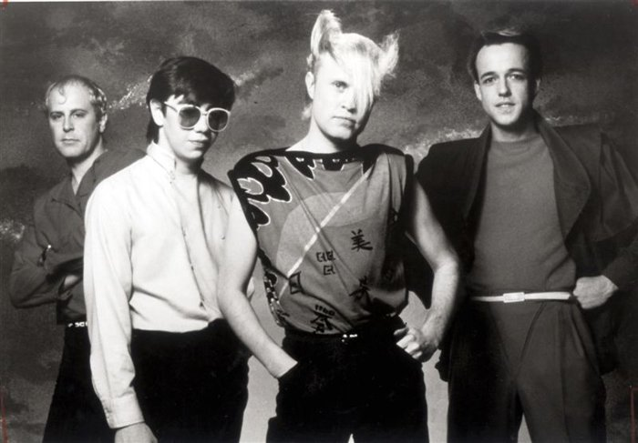 Flock Of Seagulls Iconic Hairdos