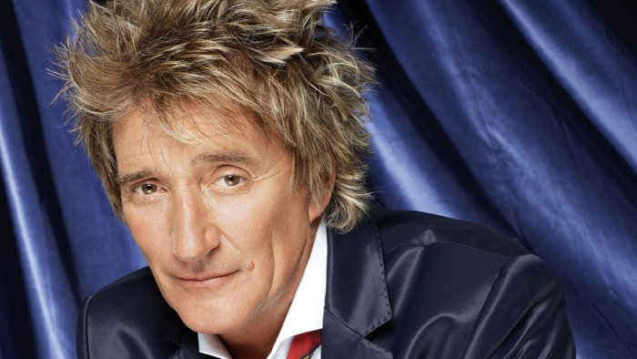 Photograph of Rod Stewart's Hair